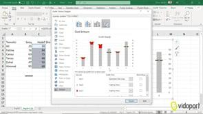 Excel Hedefi Geçen ve Geçmeyen Değerleri Grafikleştirmek