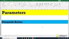 Parameters ile Veri Dosyasının Adını Dinamik Belirlemek