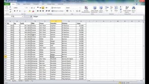 Excel'de satır, sütun, aralık seçmek