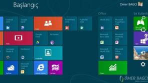 Windows 8'de Başlangıç ve Kilit Ekran  Resmini Değiştirmek