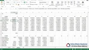Excel'de Hücre içine Üst simge - Alt simge yazmak