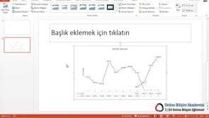 Slaytlarınıza Excel'deki Grafikleri, Verileri Aktarmak
