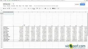 Excel dosyalarını E-tablo'da açıp düzenlemek