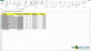 Excel grafikleri ayrı sayfalara taşımak