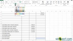 Excel'de Özel Biçimlendirmeyi kullanarak verileri gizlemek