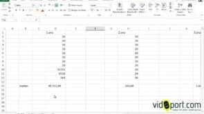 Excel Adres ve Dolaylı işlevini birlikte kullanmak