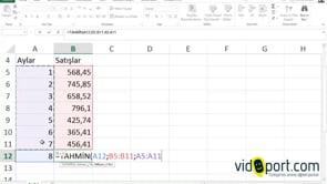 Excel de TAHMİN işlevi ile satış sonuçlarını tahmin etmek