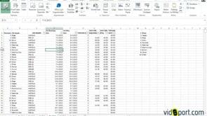 Excel'de Çalışanlarınızın detaylı saatlik izin tablosu oluşturmak