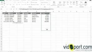 Excel'de Birden fazla çalışma sayfasındaki değerleri toplamak
