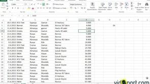 RANK.ORT işlevi ile Aradığınız değerlerin ortadaki sırasını bulmak