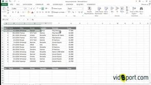 Excel'de Kopyala ve Yapıştırma işlemleri