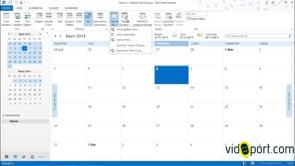 Outlook takvim ekranını tanımak