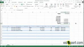 Excel'de Ödeme tablo oluşturma - Firmalar için ödeme tablosu oluşturma-1