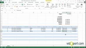 Excel'de Ödeme tablo oluşturma- Firmalar için ödeme tablosu oluşturma-2