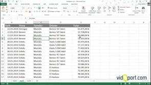 Excel'de İki Alana Göre-Çift Değerli Grafikler Oluşturmak
