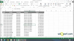 Excel'de Iki farklı tablodan özet tablo oluşturmak