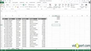 Excel Eğer, Ortalama İşlevleri ile Şarta Bağlı Ortalama Bulmak.