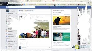 Facebook videolarının otomatik başlamasını engellemek