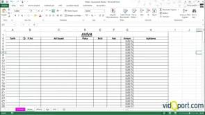 Excel'de listelerden istenilen değerleri ayrı yazdırmak