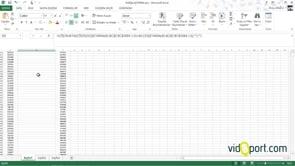 Excel'de iki listeyi karşılaştırmak