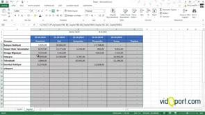 Haftalık Ödemeleri takip etmek için Excel dosyası nasıl oluşturulur?