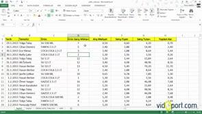 Excel'de rakamların sonuna istediğiniz ifadeleri koymak