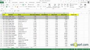 Excel'de tablolarınızı tamamını seçmenin 6 farklı yolu.