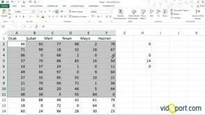 Excel'de en küçük 5 değerin ortalamasını nasıl bulursunuz