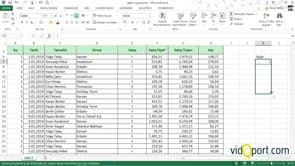 Excel'de Firmanızın 11 aylık satış değerlerinden 12. ayı tahmin etmek