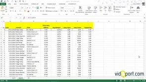 Excel'de Satır ve Sütunları genişletmek için kullanılan yöntemler