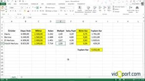 Excel dosyalarınızı Tamamlandı Olarak İşaretlemek