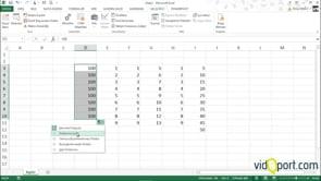 Excel'de rakamları nasıl arttırırsınız?