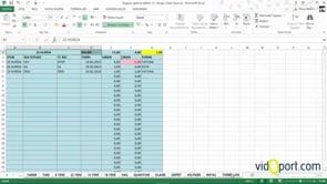 Excel'de stokları ayrı sayfalara otomatik ayırmak
