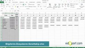 Excel'de taksit ve aylık ödeme listesi nasıl oluşturursunuz - 2. Adım