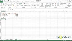 Excel'de taksit ve aylık ödeme listesi nasıl oluşturursunuz - 3. Adım