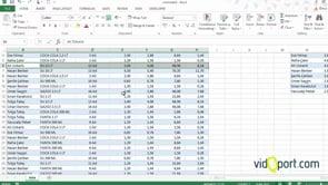 Excel'de Satır-Sütun Ekleme ve Silme Yöntemleri