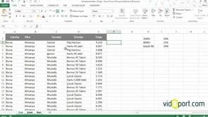 Excel'de 3 Farklı Sayfadaki Prim Tutarını Eğer ve VE ile hesaplama