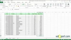 SUM- SUMIF ve SUMIFS İşlevlerinin Kullanımları
