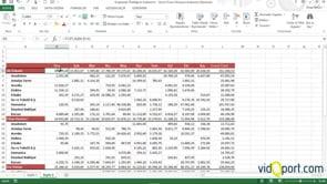 Excel'de satırlarda Gruplandırma Özelliği kullanmak