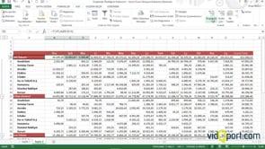 Excel'de Sütunlarda Gruplama Özelliğini kullanmak