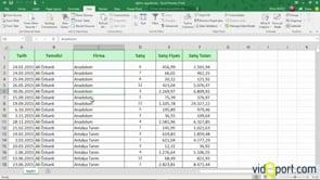 Özet Tablo - Pivot Table Oluşturmak