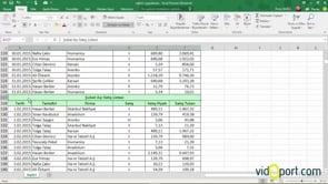 Excel'de Hücreleri Birleştir ve Ortalama'yı kullanma