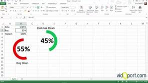 Excel'de Halka grafikler ile çalışmak