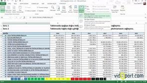 Excel Uygulama Soruları-4. soru ve çözümü