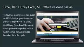 Excel'de sütundaki bozulan biçimleri biçim kopyalama yolu ile düzeltmek