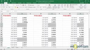 Excel'de Boş hücreleri doldurma yöntemleri