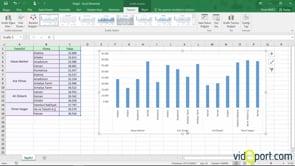Excel'de Güneşışığı ve TreeMap Grafik türlerini oluşturmak