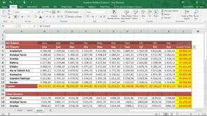 Excel'de hücrelere dolgu efektti uygulama