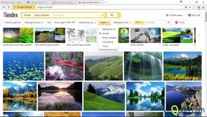 Yandex browser'da görsel aramaları kullanmak