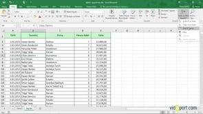 Excel'de listenizdeki tek bir alana göre sıralama nasıl yapılır?